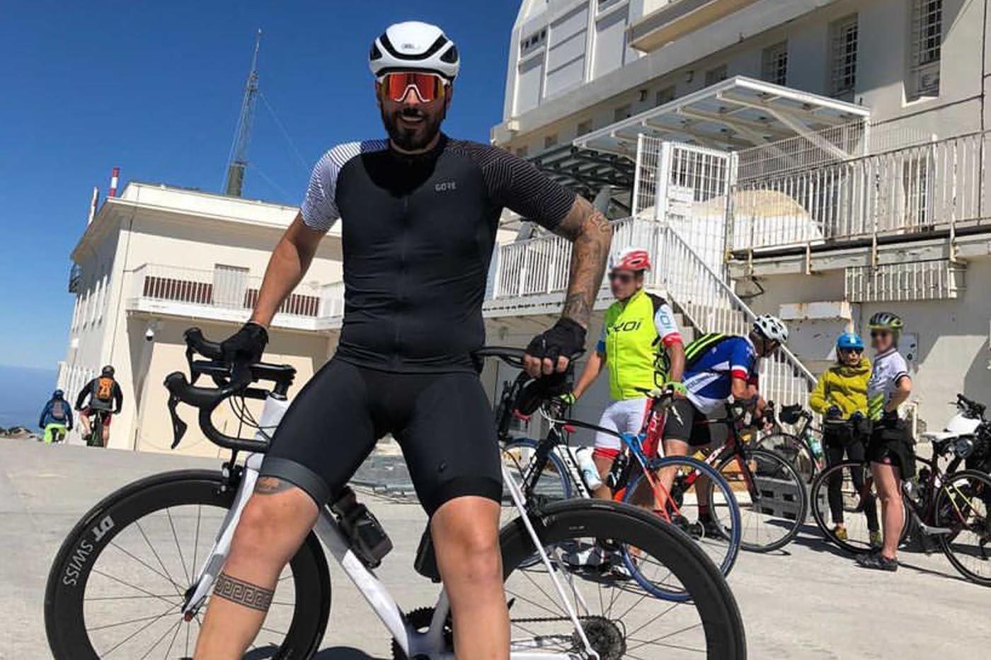 Radsport von Hacht auf dem Mont Ventoux